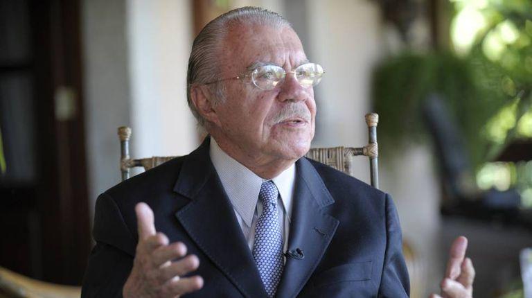 O ex-presidente e ex-senador José Sarney, em 2015.