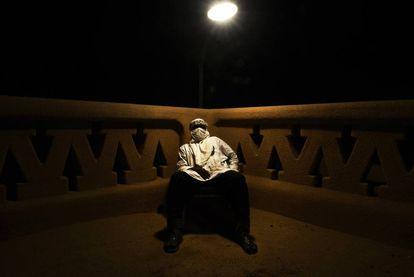 Mohamed é o nome fictício do chefe de uma organização de traficantes de pessoas que opera no Saara.