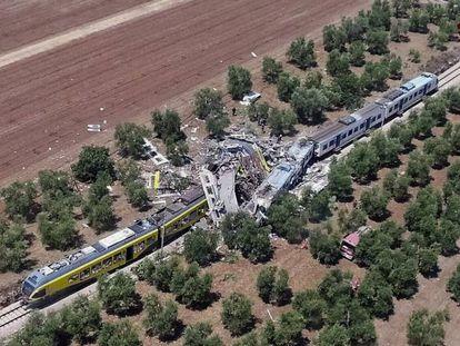 Primeiras imagens do acidente, divulgadas pelo canal News24 no Youtube.