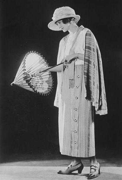 Hedda Hopper, em 1920.