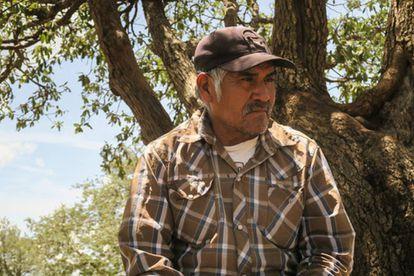 O líder indígena mexicano Rarámuri Julián Carrillo.
