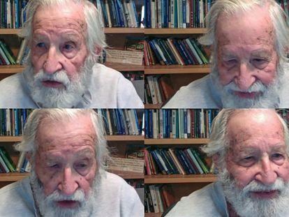 A entrevista com Noam Chomsky.