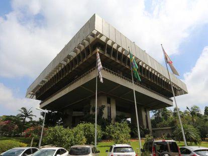 Imagem da fachada do prédio do TCM, em São Paulo.