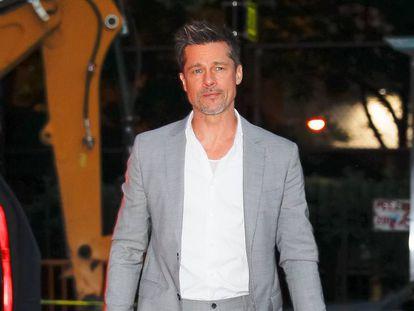 Brad Pitt em Nova York em agosto de 2017.