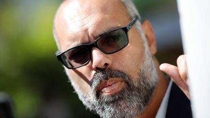 O blogueiro bolsonarista Allan dos Santos.