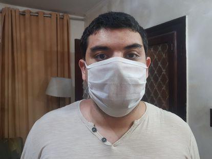 O estudante universitário Yuri Diniz Arnaut.