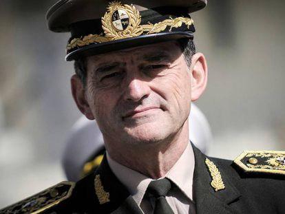 O chefe do Exército uruguaio, Guido Manini Rios.