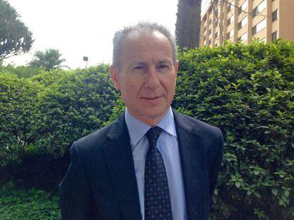 Miguel Ángel Ródena, da Confederação Hidrográfica do rio Segura.