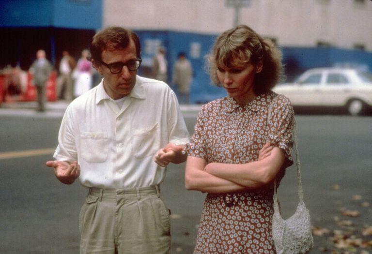 Woody Allen em cena do filme 'Hannah e suas irmãs'.