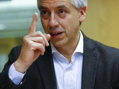 Álvaro García Linera, em 2015.