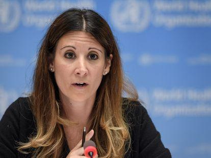 Maria van Kerkhove, diretora de emergências sanitárias da OMS.