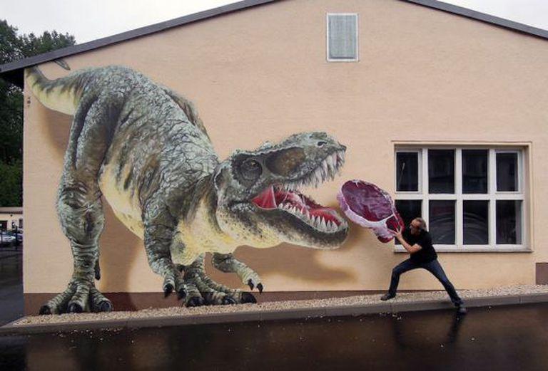 O grafiteiro alemão Tasso.