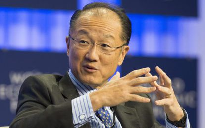 O presidente do Banco Mundial, Jim Yong Kim