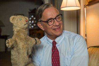 Tom Hanks, em 'Um Lindo Dia na Vizinhança'.