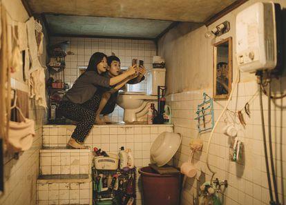 """Cena do filma """"Parasita"""", de Bong Joon-ho."""