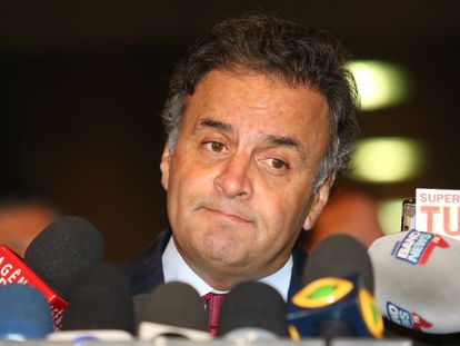 O senador Aécio Neves, do PSDB.
