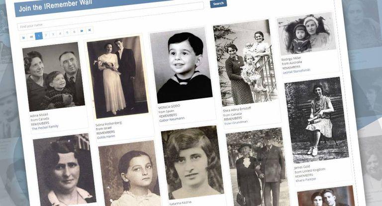 Imagem da iniciativa lançada por Yad Vashem e Facebook para comemorar no Dia do Holocausto.