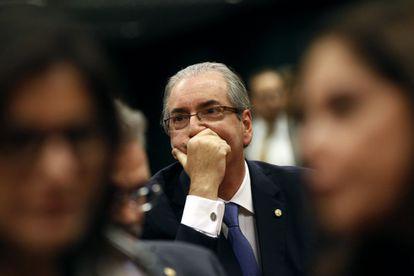 Eduardo Cunha no último dia 17.