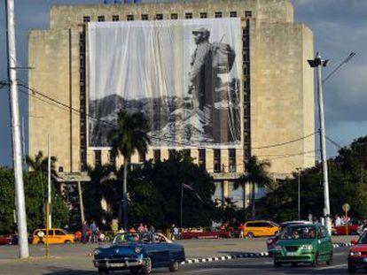 Um desfile popular de homenagem abre os sete dias de despedida do pai da Revolução Cubana