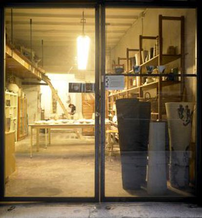 Imagem da loja-oficina de Carme Balada