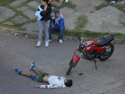 O jovem David Moreira, morto após um linchamento.