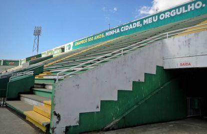 Projeto para reforma da Arena Condá está em andamento.