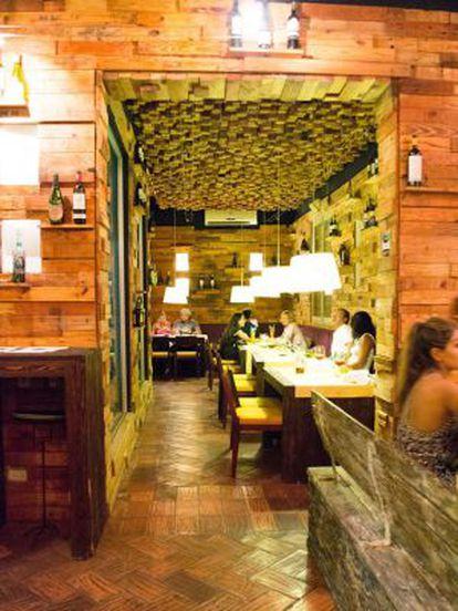 Restaurane O Santísimo, em Cartagena de Índias (Colômbia).