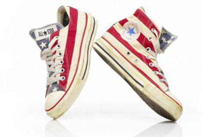 Tênis Converse Chuck Taylor antes do lançamento da Nike.