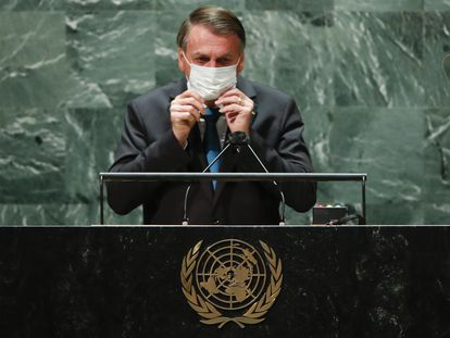 Presidente Jair Bolsonaro na Assembleia Geral da ONU