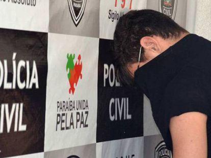 Marvin Henriques (de costas) em 28 de outubro em João Pessoa, na Paraíba.