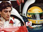 Ayrton Senna, en un fotograma del documental, durante un entrenamiento en el circuito alemán de Nürburgring, en 1984.