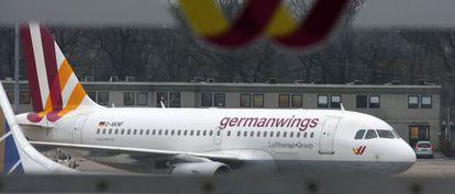 Um A320 da companhia alemã Germanwings.