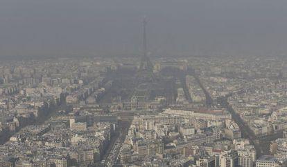 Poluição em Paris.