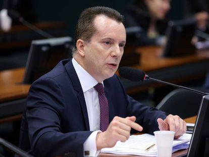 Celso Russomanno, na Câmara, em uma foto do ano passado.