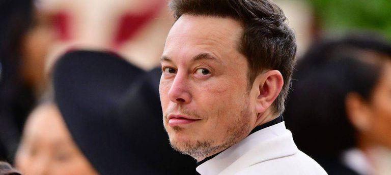 Elon Musk na última cerimônia do MET em Nova York.