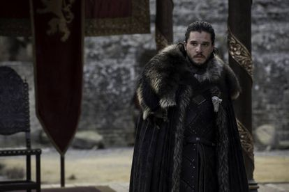 Jon Snow (Kit Harington) no último episódio da sétima temporada de 'Game of Thrones'