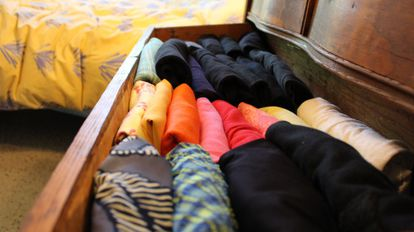 Esse é o aspecto que suas gavetas devem ter, segundo Marie Kondo. Foto: Natsuno Ichigo