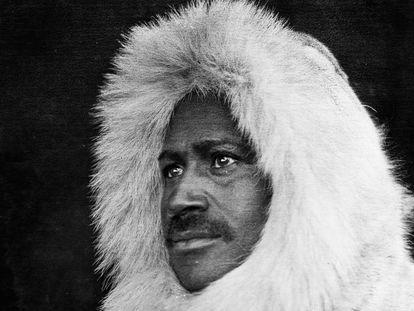 Matthew Henson, fotografado em 1908 no Canadá.