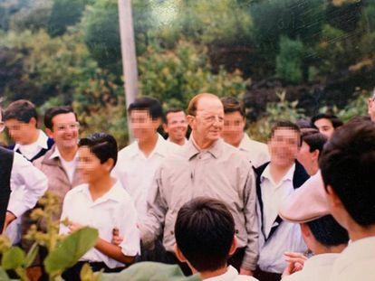 Marcial Maciel, no seminário de Ajusco (Cidade do México), na década de 90.