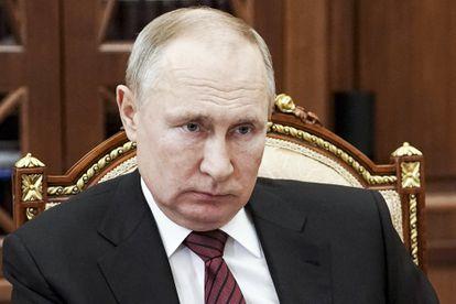 Vladimir Putin durante uma reunião no Kremlin em Moscou, na última quarta-feira.