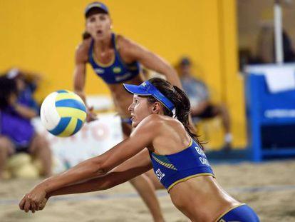 Lili e Carol Horta disputam o bronze contra Canadá.
