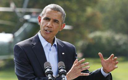 O presidente Barack Obama fala sobre o Iraque.