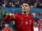 Soccer Football - Euro 2020 - Group F - Portugal v France - Puskas Arena, Budapest, Hungary - June 23, 2021 Portugal's Cristiano Ronaldo celebrates scoring their second goal Pool via REUTERS/Bernadett SzaboALEGRIA PUBLICADA 25/06/21 NA MA15 2COL