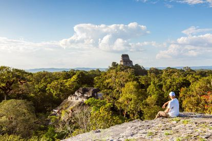 Ruínas maias de Tikal, em Guatemala.