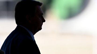 O presidente Jair Bolsonaro em imagem do dia 30 de julho.