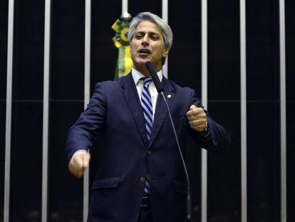 O deputado Alessandro Molon na Câmara.