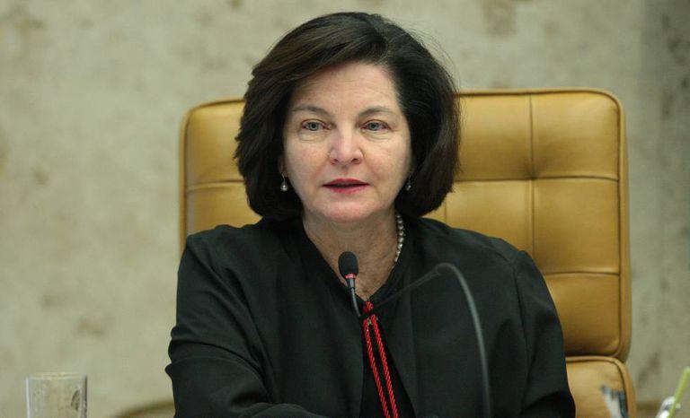 A procuradora-geral, Raquel Dodge, em sessão de abril no STF.
