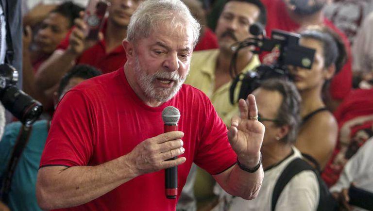 Luiz Inácio Lula da Silva, em um ato público há uma semana.