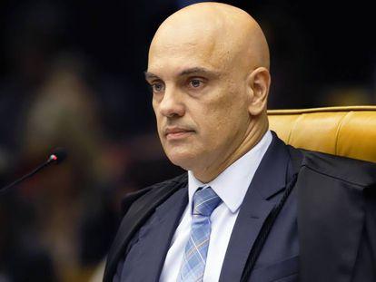 O ministro Alexandre de Moraes, nesta quarta-feira.