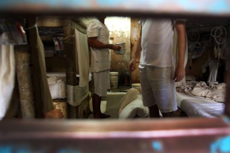 O presídio da Papuda, no DF, onde foi registrada a maioria dos casos de coronavírus no sistema penitenciário